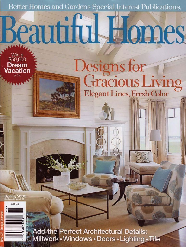 Beautiful Homes Spring 2008