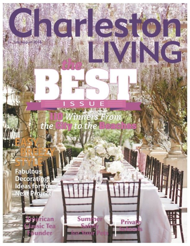 Charleston Living July 2016