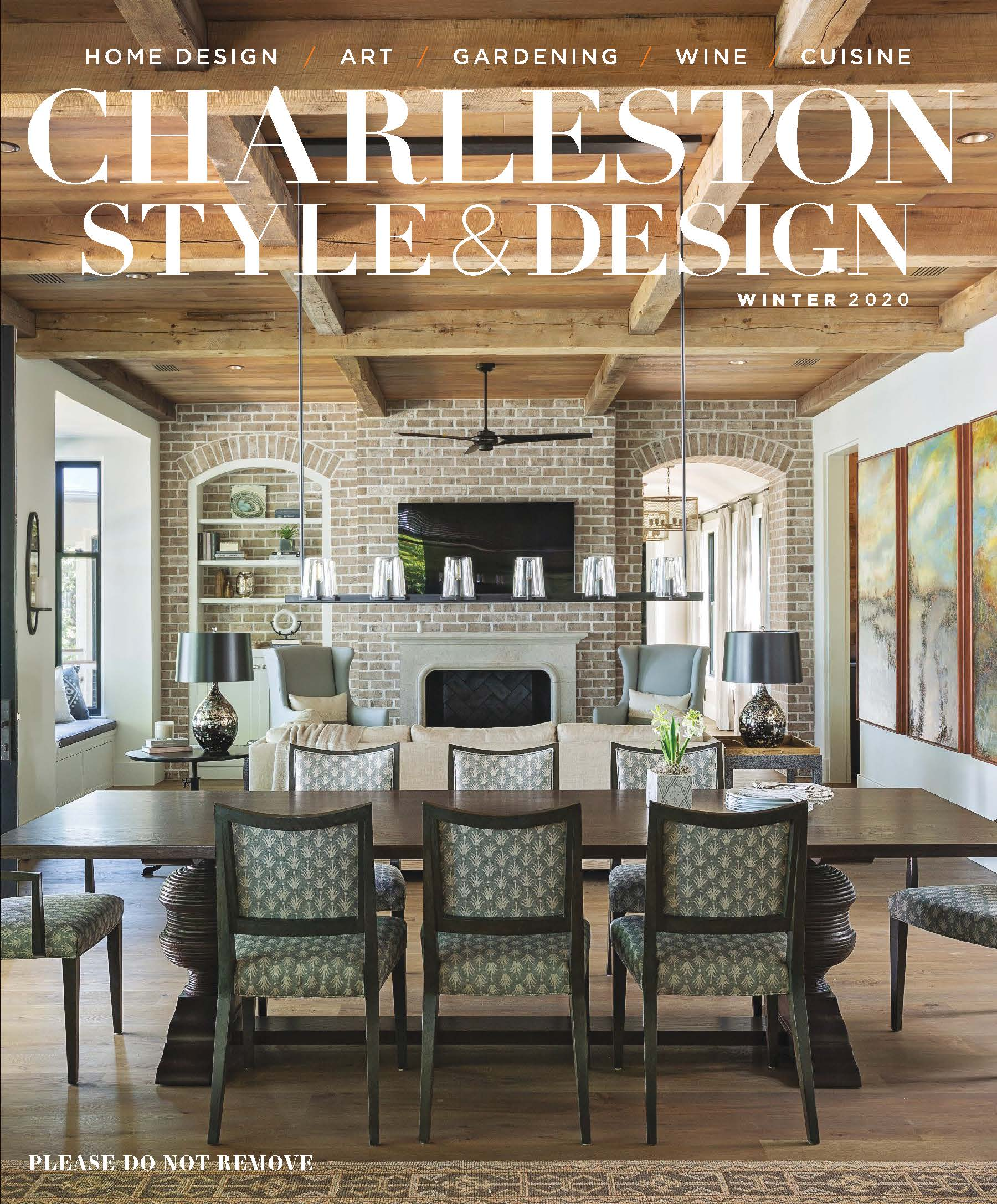 Charleston Style and Design Winter 2020