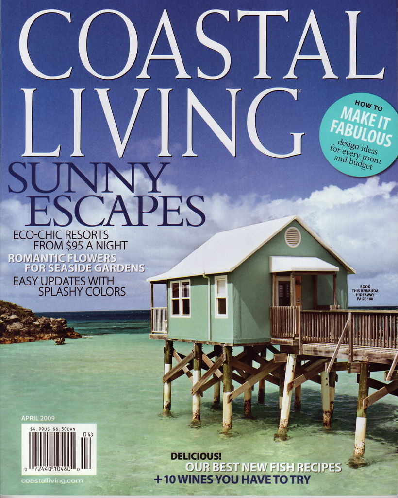 Coastal Living April 2009