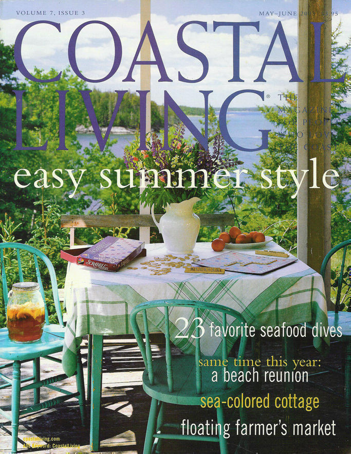 Coastal Living June 2003