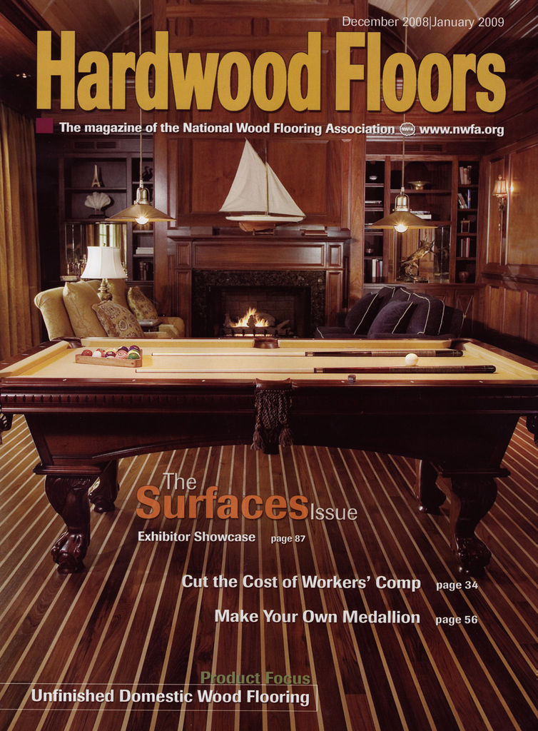 Hardwood Floors Magazine January 2009
