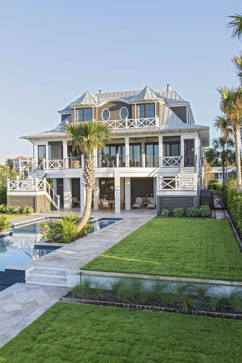 Isle of palms oasis herlong architects architecture for Neat house designs