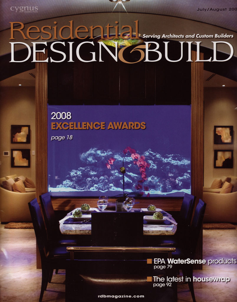 Residential Design & Build July/August 2008