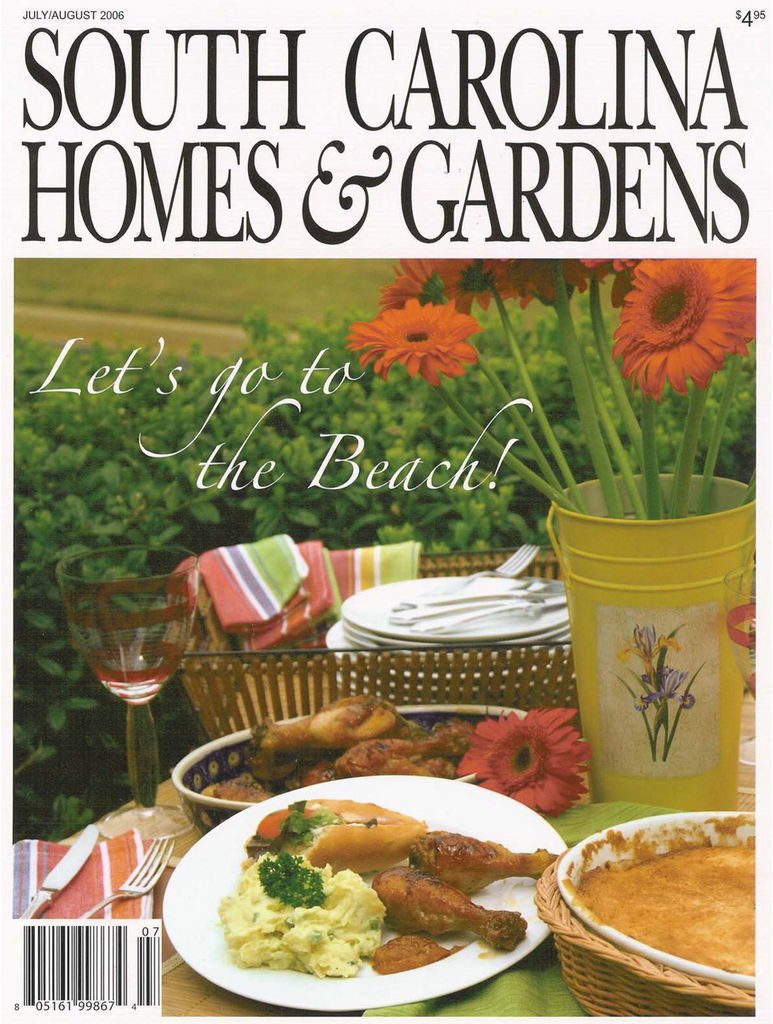 South Carolina Homes & Gardens August 2006