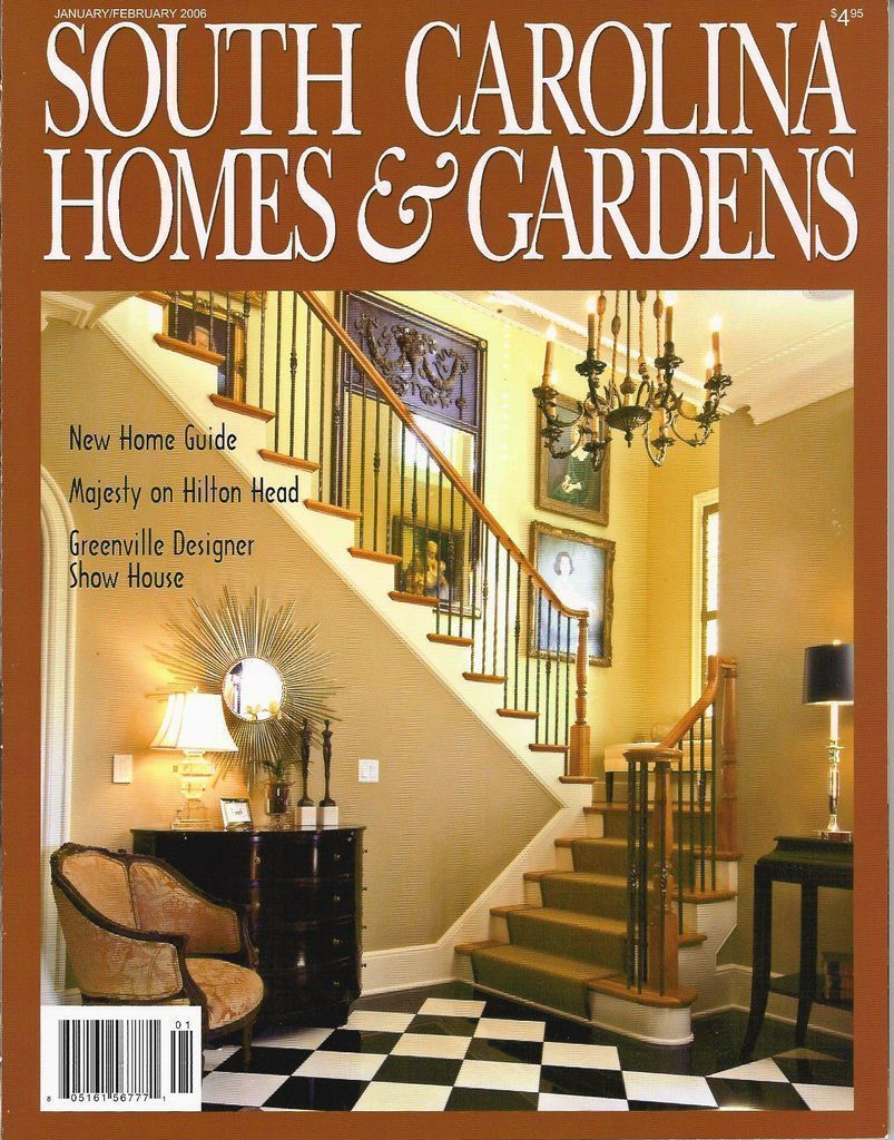 South Carolina Homes & Gardens January 2006