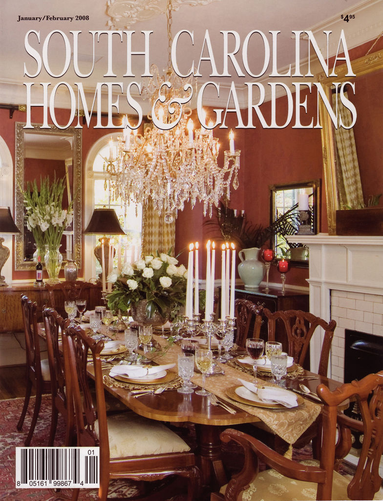 South Carolina Homes & Gardens January 2008
