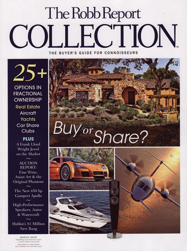 The Robb Report March 2009