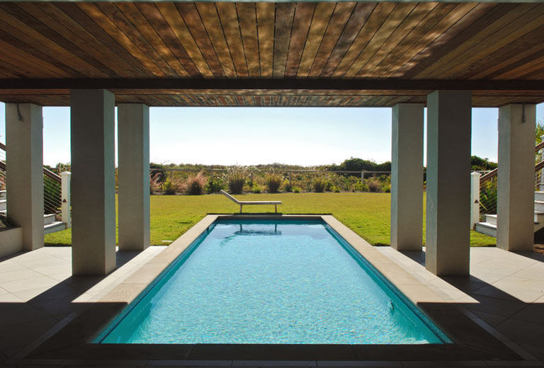 Under house pool design
