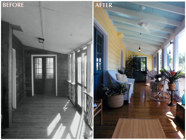 before after historic restoration and renovation sullivan's island
