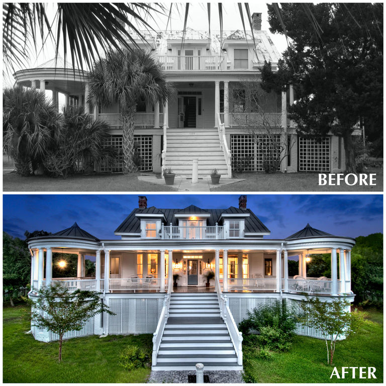 before and after historic restoration renovation