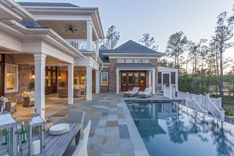 southern living infinity pool charleston architect