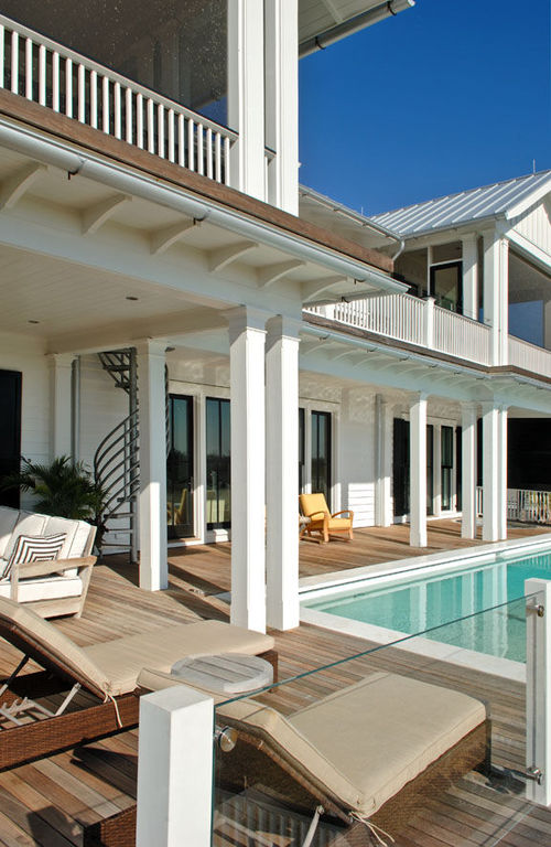 sullivans island contemporary pool design elevated pool herlong